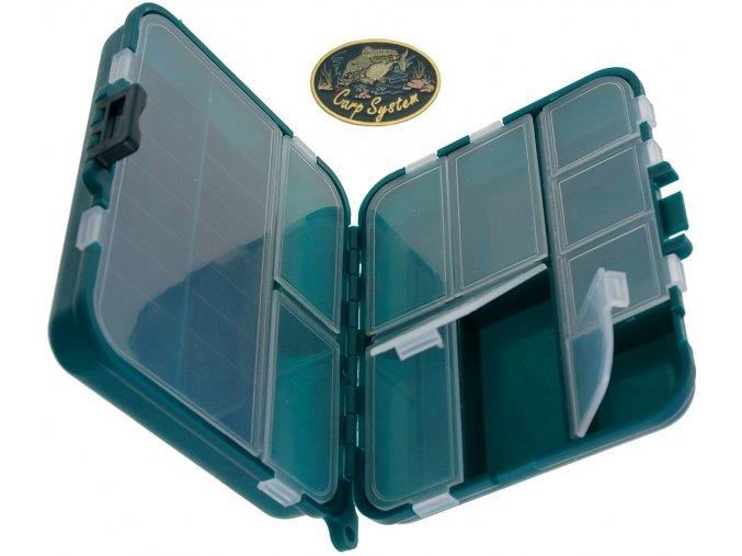 Carp System krabička dvojdílná - 12 x 10 x 3,5 cm