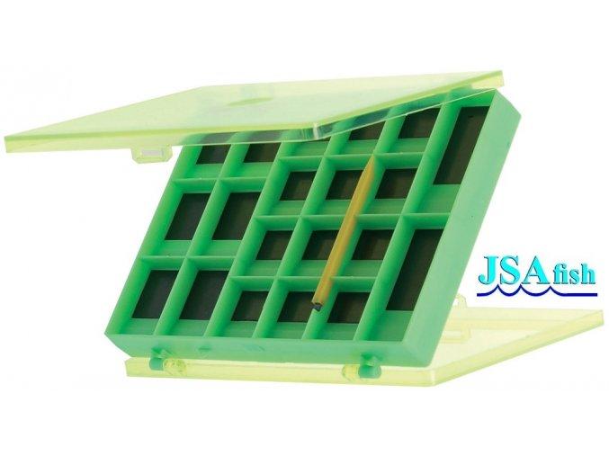 JSA Fish magnetická krabička - 12 x 9 x 1,8 cm