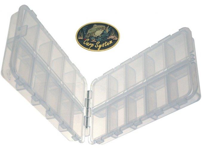 Carp System dvojdílná krabička - 15 x 9 x 4 cm