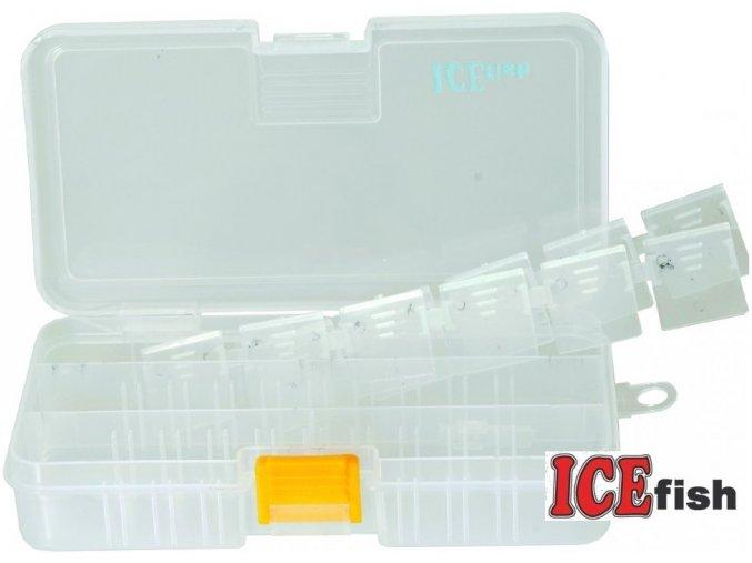 ICE Fish rybářská krabička E14 -18,5 x 10,5 x 3,5 cm