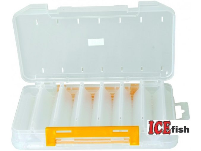 ICE Fish oboustranná krabička na woblery - 20 x 12,5 x 3,5 cm