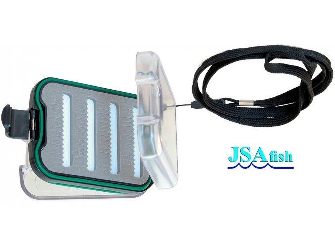JSA Fish krabička na mušky 42A 95 x 70 x 35 mm