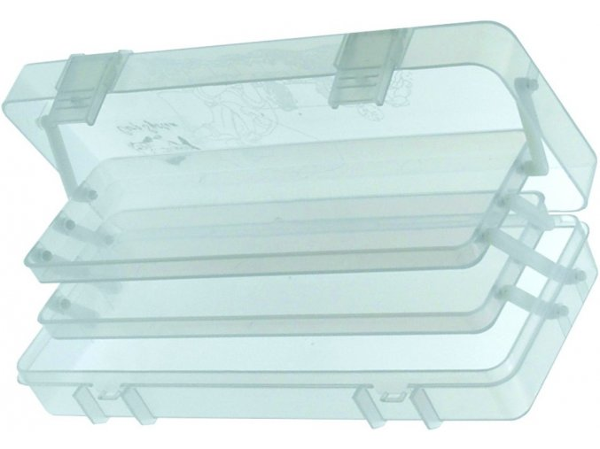 Carp System dvoupatrové pouzdro na splávky 300 x 35 x 105 mm