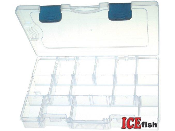 ICE Fish plastový box III - 27 x 18,5 x 4,5 cm