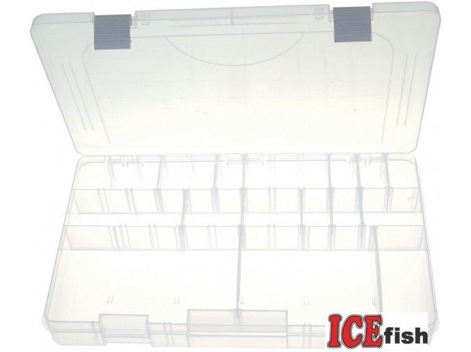 ICE Fish plastový box IV - 36 x 22,5 x 5 cm