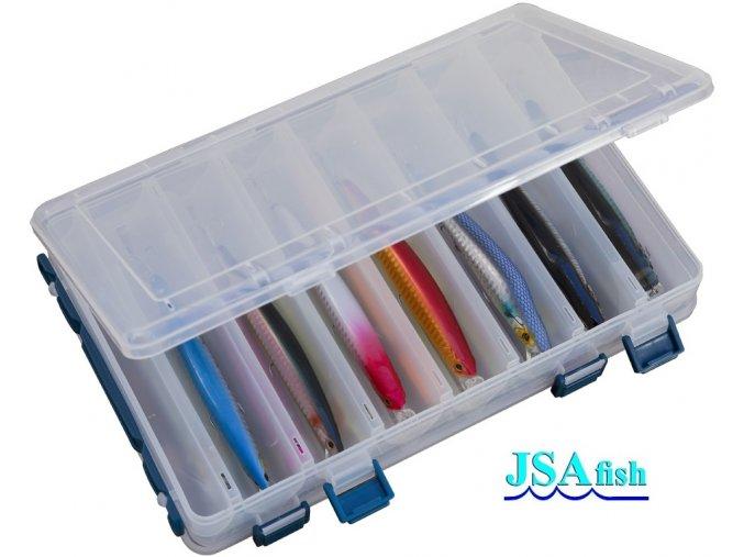 JSA Fish krabička na woblery 275 x 190 x 45 mm