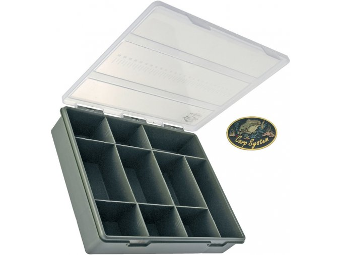 Carp System krabička s metrem C.S. - 29,5 x 21 x 6,5 cm