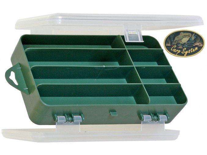 Carp System krabička oboustranná - 18 x 11 x 5 cm