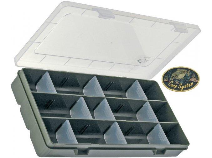 Carp System krabička obdélník - 22,5 x 10,5 x 3 cm