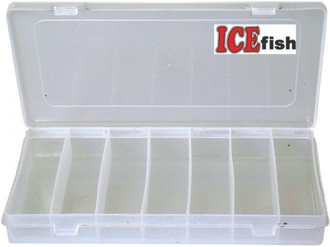 ICE Fish krabička twisterová 7 polí - 25,5 x 14 x 3,5 cm