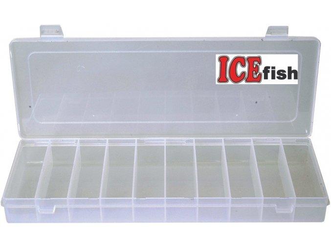 ICE Fish krabička twisterová 10 polí - 35,5 x 14 x 4 cm