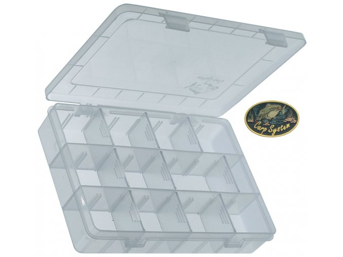 Carp System krabička twisterová 1 - 20 x 14,5 x 4 cm