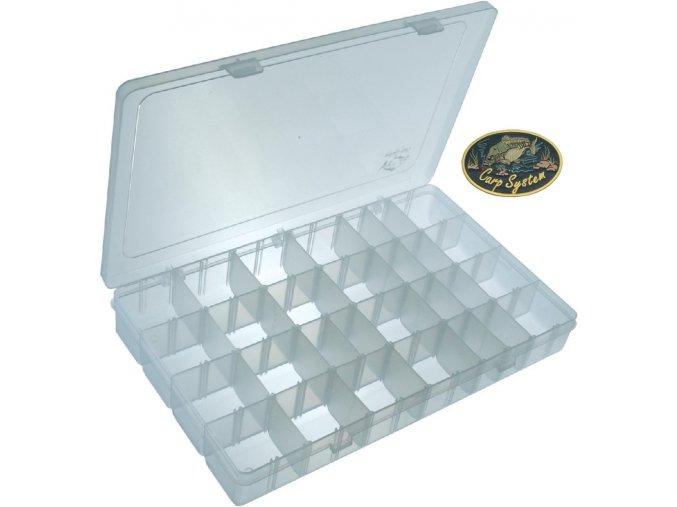 Carp System krabička twisterová velká - 35,5 x 23 x 5 cm