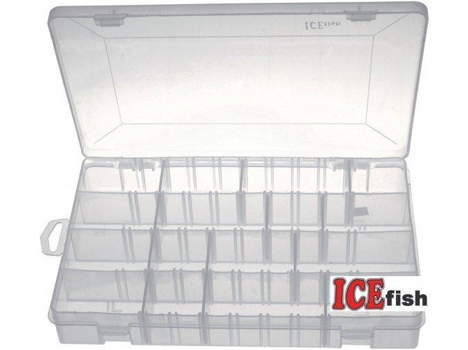 ICE Fish krabička twisterová 2 - 28 x 18,5 x 4,5 mm