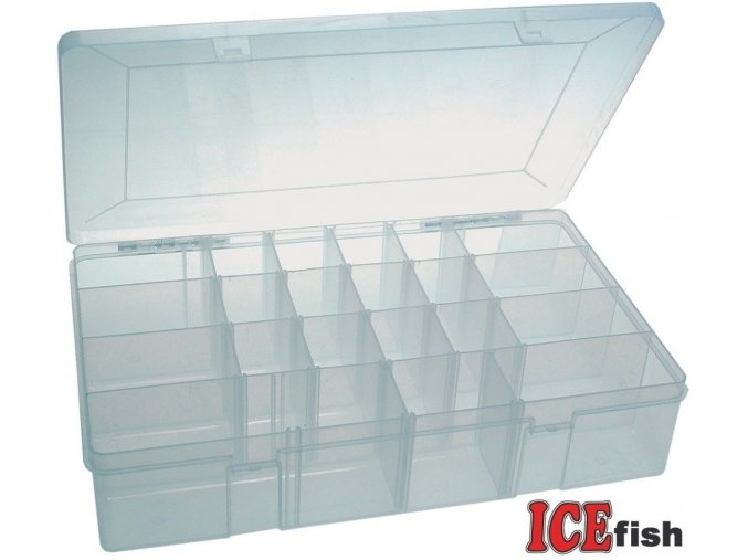 ICE Fish plastový box maxi - 36 x 23 x 8 mm