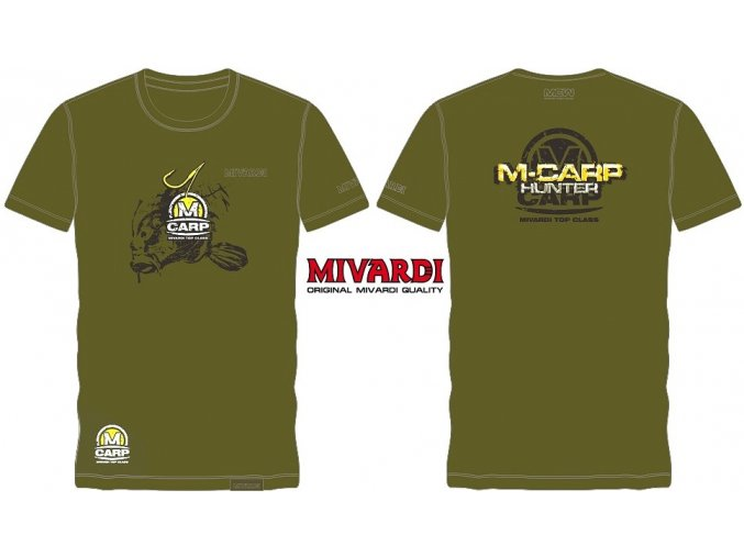 Mivardi rybářské tričko MCW M-Carp