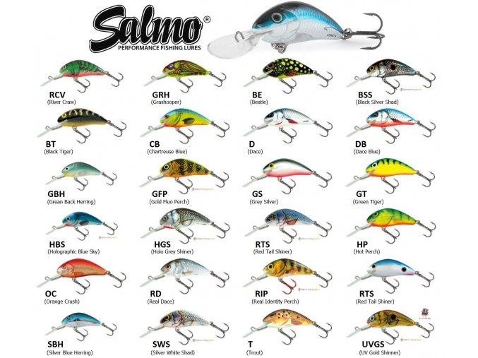 Wobler Salmo Hornet 3 S