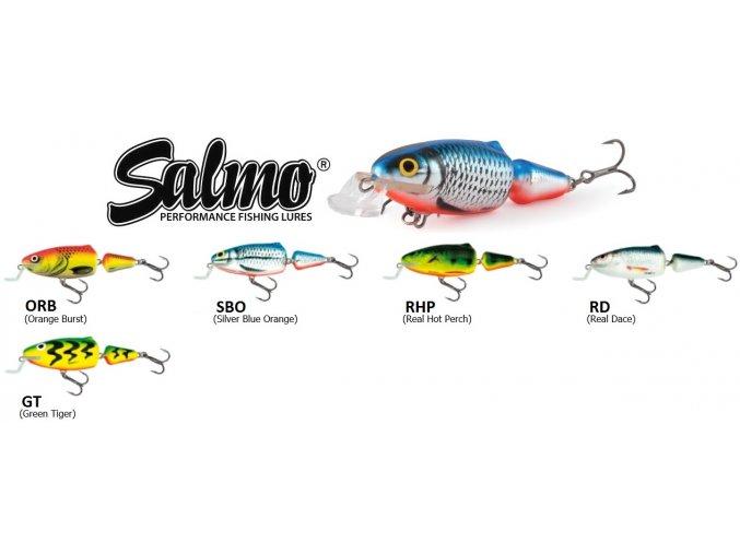 Wobler Salmo Frisky 7 SR