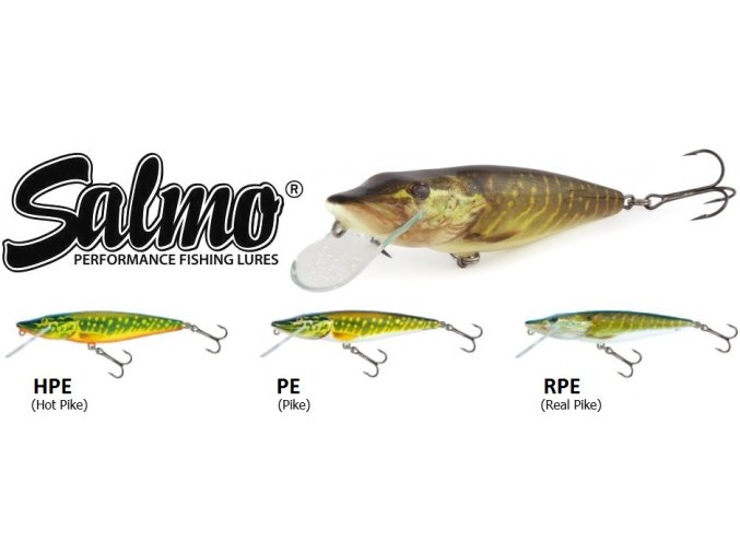 Wobler Salmo Pike 9 SDR
