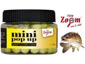 Carp Zoom mini Pop Up plovoucí boilies 50 g/10 mm