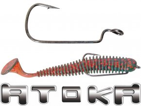 Rybářské vláčecí háčky ATOKA W / 10 ks