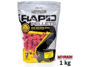 Mivardi pelety Rapid Easy Catch Jahoda 1 kg
