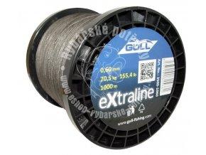 Pletená šnůra GULL eXtraline 0.10mm-0.60mm 1m