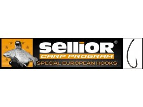 Rybářské háčky SELLIOR Longshank C1 BH bez protihrotu vel.4,6,8
