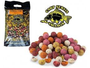 Carp Servis Václavík krmné boilies - ovocný mix 3 kg