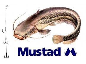 Rybářské návazce na sumce - hotová montáž MUSTAD Catfish Rig 11