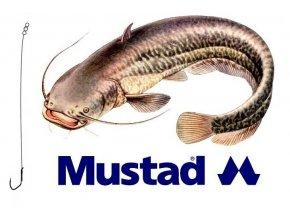 Rybářské návazce na sumce - hotová montáž MUSTAD Catfish Rig 3