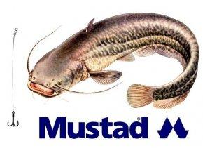 Rybářské návazce na sumce - hotová montáž MUSTAD Catfish Rig 4