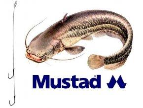 Rybářské návazce na sumce - hotová montáž MUSTAD Catfish Rig 6