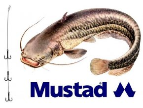 Rybářské návazce na sumce - montáž MUSTAD Catfish Rig 10