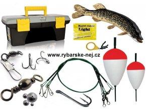 Rybářské potřeby - sada pro rybáře na dravé ryby