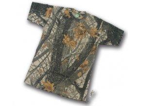 Rybářské tričko Loshan - kamufláž