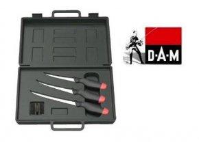 DAM Fillet Knife Kit 4 PCS filetovací sada