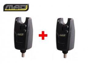 Signalizátor záběru MAD D-Fender Bite Alarm akce 1+1