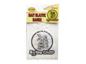 Extra Carp Bait Elastic Bands silikonové kroužky - 18 ks