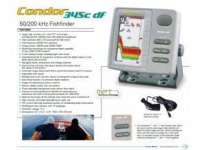 Sonar - echolot Condor 345C df 50/200 kHz