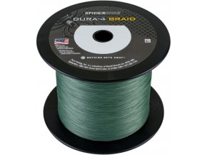 SPIDERWIRE Dura-4 Braid Green pletená šňůra 1 m