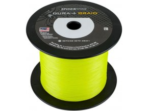 SPIDERWIRE Dura-4 Braid Yellow pletená šňůra 1 m