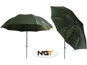 NGT deštník Green Brolly 2,20 m