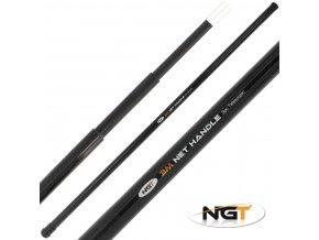 NGT podběráková tyč Telescopic Net Handle 3 m