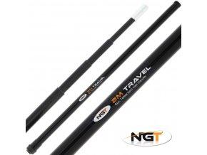 NGT podběráková tyč Mini Travel Net Handle 2 m