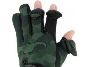 NGT neoprénové rukavice Camo Gloves