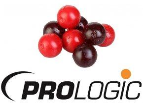 Umělé plovoucí boilies Prologic ArtBait Boilie Red & M.O. Glitter 14 mm