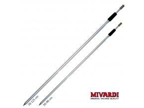 Vidlička hliníková Mivardi Z - závitová 90/125 cm