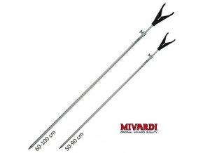 Vidlička ocelová Mivardi V - přední 90/100 cm