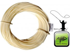 Giants Fishing muškařská šňůra Combo Fly Line Cream DT4F